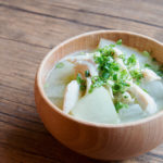 冬瓜と鶏ささみのお味噌汁