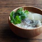 鱈と大根のお味噌汁