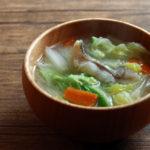 鱈と白菜のお味噌汁