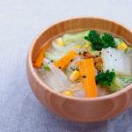野菜たっぷりのお味噌汁