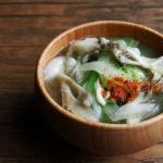 白菜と舞茸のお味噌汁